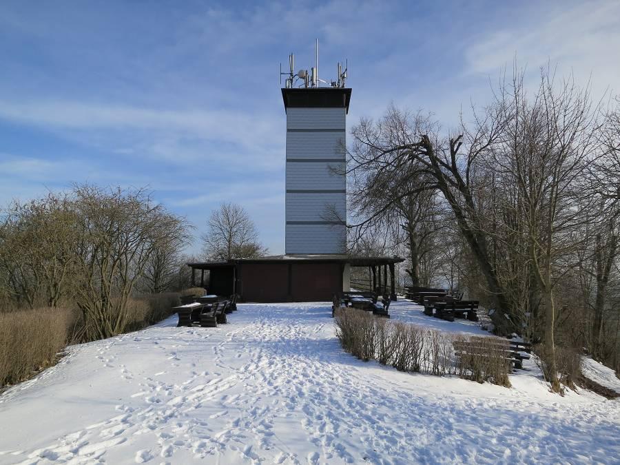 Hessenturm im Winter