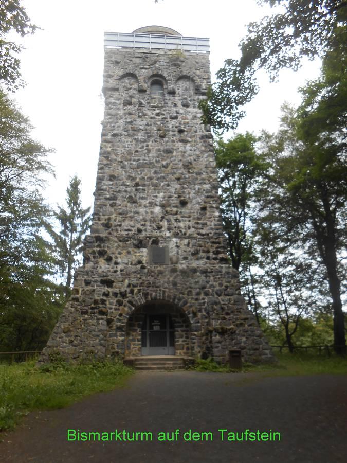 Bismarckturm am Taufstein