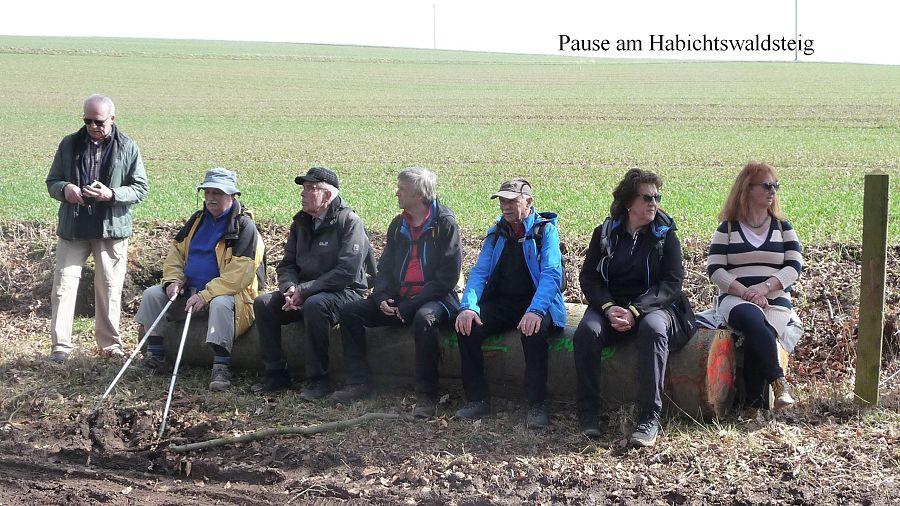 Pause Habichtswaldsteig