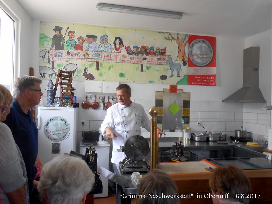 Oberurff -Grimms-Naschwerkstatt