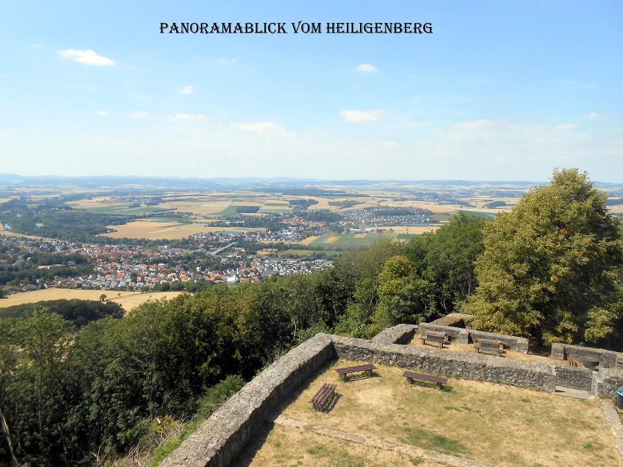 Panorama vom Heiligenberg